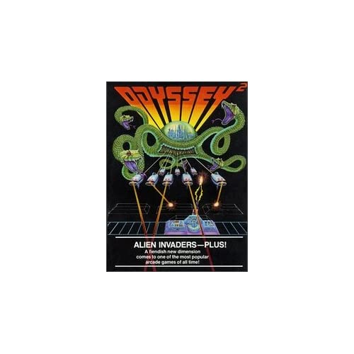Alien Invaders Plus! Odyssey 2 For Odyssey 2