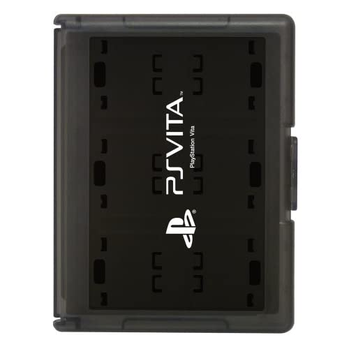 Card Case 12 For PlayStation Vita Black Japan Import