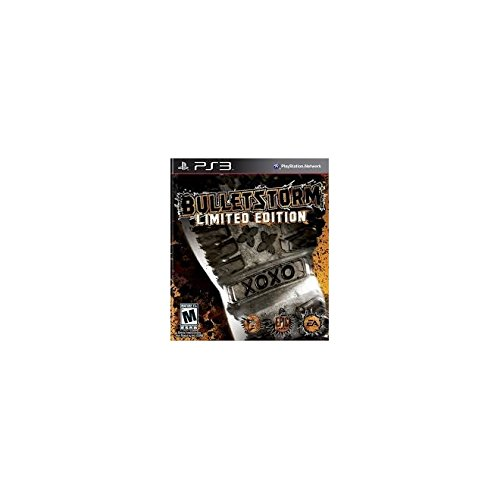Bulletstorm Limited Edition For PlayStation 3 PS3