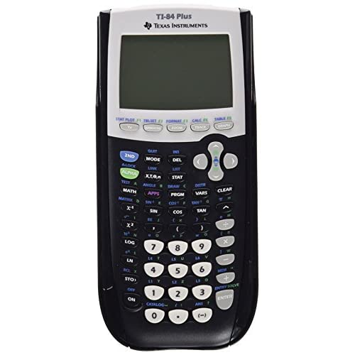 Image 0 of Texas Instruments TI-84PLUS Programmable Graphing Calculator 10-DIGIT LCD