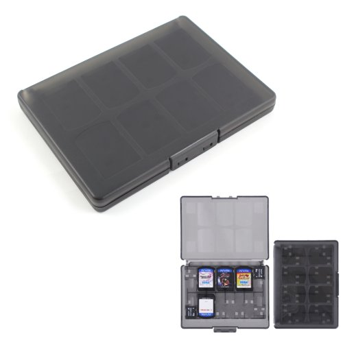 18 In 1 Game And Memory Card Holder Case Storage Box For Ps Vita Psv