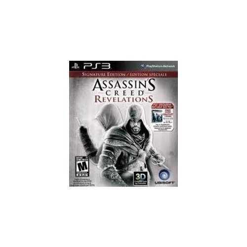Assassins Creed Revelations Signature Edition For PlayStation 3 PS3 With Manual