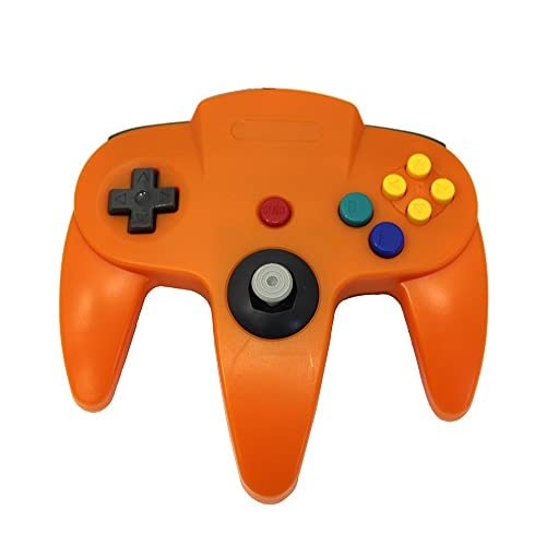 Image 1 of Orange Replacement Controller For Nintendo 64