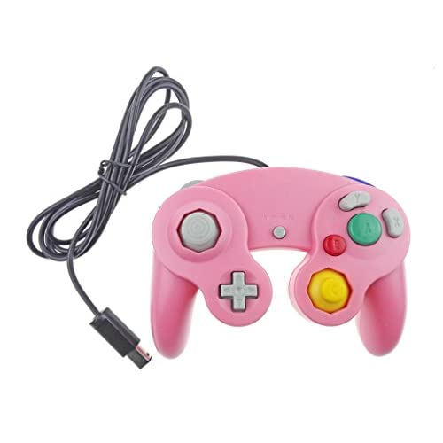Image 0 of Generic Nintendo GameCube Compatible Controller Pink