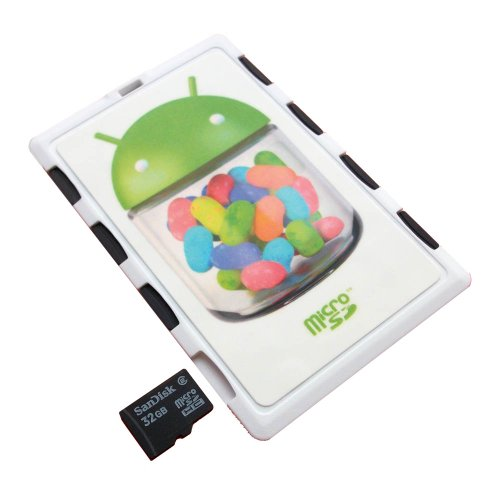 DiMeCard MICRO8 Microsd Memory Card Holder White Android Jelly Bean Hard Cases