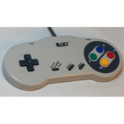 Naki Turbo Controller With Slow Motion First Edition SNB-1 SNES Super Nintendo F