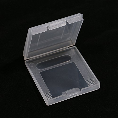 Plastic Game Cartridge Case Dust Cover For Color Clear 1PCS