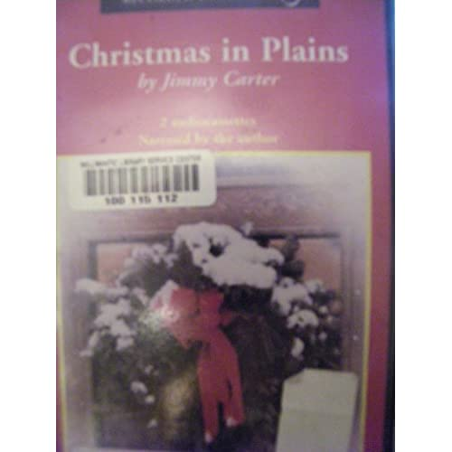 Image 0 of Christmas In Plains Unabridged Audiobook By Jimmy Carter On Audio Cassette