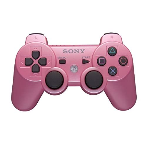Image 0 of Sony OEM Dualshock 3 Wireless Controller Candy Pink For PlayStation 3 PS3 Gamepa