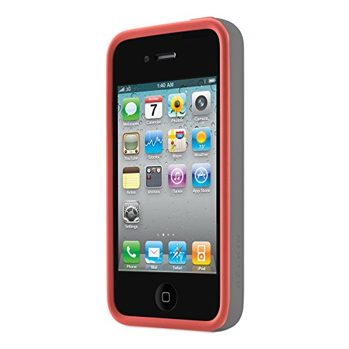 Image 2 of Belkin F8W084EBC02 Essential Case For iPhone 4 / 4S Pink Cover Orange