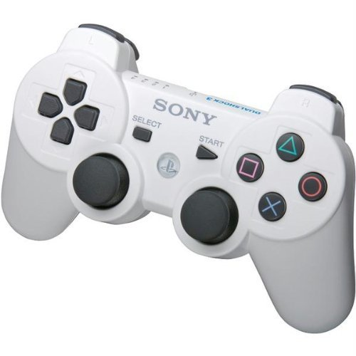 Sony OEM Dual Shock 3 Controller For PlayStation 3 PS3 Classic White 99013