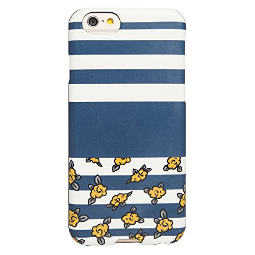 Image 0 of AGENT18 iPhone 6 / iPhone 6S Case SlimShield Lines And Yellow Flowers