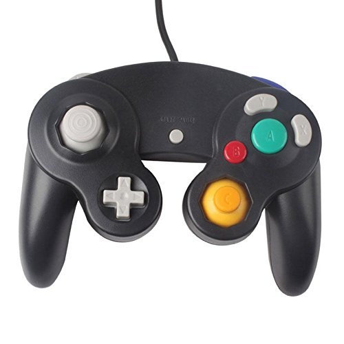 Image 0 of Two GameCube / Compatible Controllers Black For Wii And Wii U