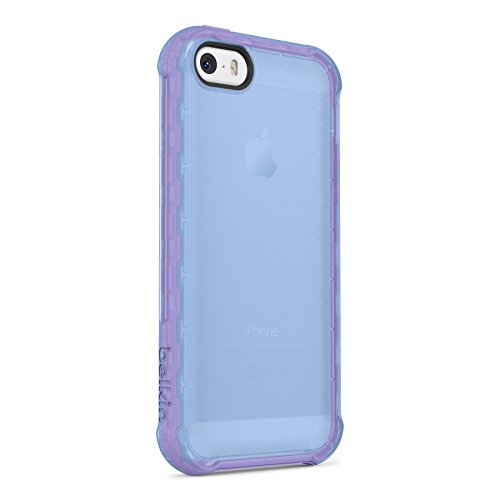 Belkin Air Protect Grip Extreme Case For iPhone 5 5S SE Lavender Cover Multi-Col