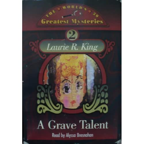 A Grave Talent Kate Martinelli Series 1 By Laurie R King Alyssa Bresnahan Narrat