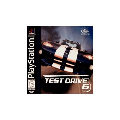 test drive 6 for playstation 1 ps1 racing