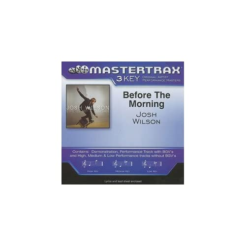 Image 0 of Before The Morning Mastertrax 3 Key By Josh Contributor Wilson On Audio CD Album
