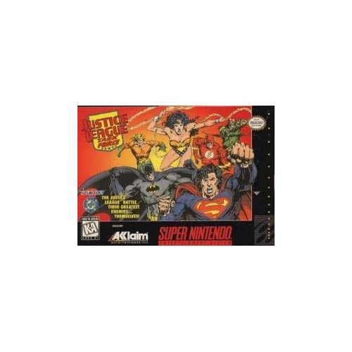 Justice League: Task Force For Super Nintendo SNES
