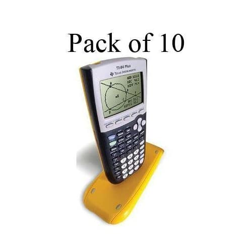 Image 0 of Texas Instruments TI-84 Plus School Pack Of 10 Calculators