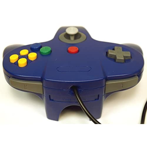Image 1 of Nintendo Blue Replacement Controller By Mars Devices For N64