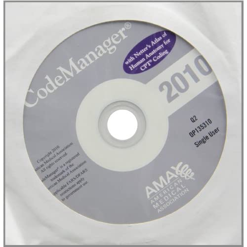 Image 0 of CodeManager 2010: A Complete Medical Coding Software Solution With Netter's Atla