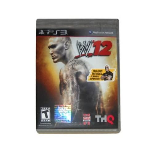 Image 0 of WWE '12-NLA For PlayStation 3  PS3 Wrestling