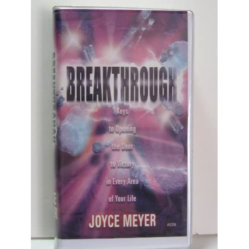 Image 0 of Breakthrough Keys To Opening The Door To Victory By Joyce Meyer On Audio Cassett