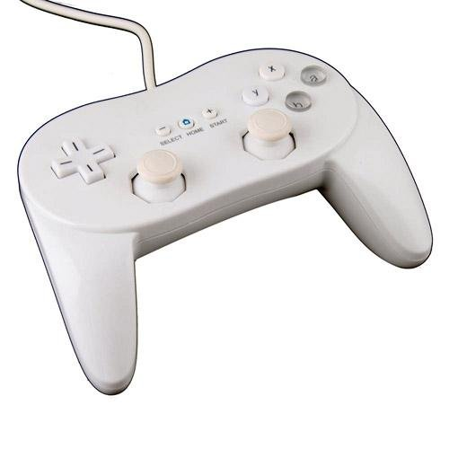 Image 0 of White Classic Stylish Remote Controller Pro For Wii NES Classic