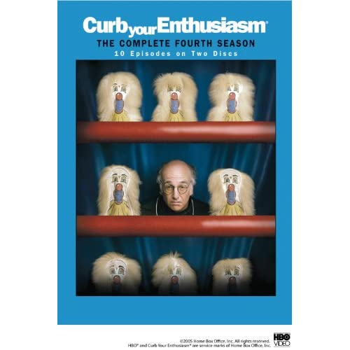 Image 0 of Curb Your Enthusiasm: Season 4 On DVD With Larry David Comedy