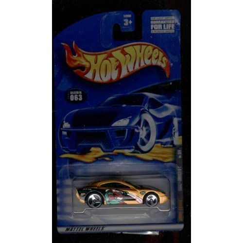 Hot Wheels 2001-063 Dodge Charger R/t 3/4 1:64 Scale Toy