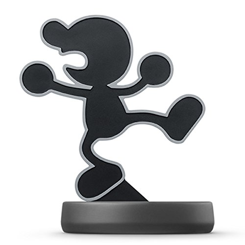 Image 0 of Nintendo Mr Game And Watch Amiibo Super Smash Bros Collection For Wii