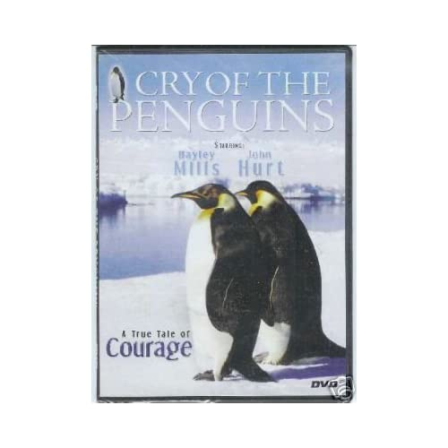 Image 0 of Cry Of The Penquins On DVD with Hayley Mills Documentary