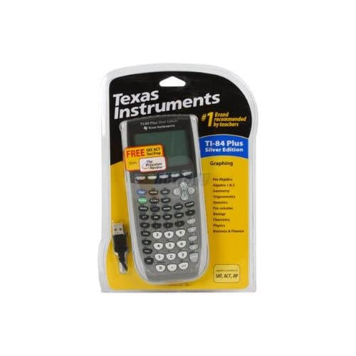 Texas Instruments TI-84 Plus Silver Edition Graphing Calculator Silver