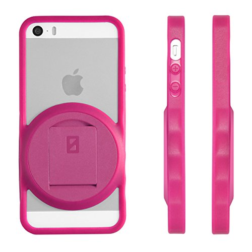 Image 3 of iPhone 5 5S SE VarioEdge Stand Case By ZeroChroma Pink Cover Multi