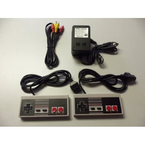 Image 0 of Nintendo NES Controllers AV Cable Power Adapter Bundle