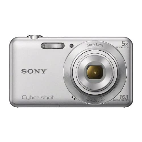 Sony DSC-W710 16 Mp Digital Camera With 2.7-Inch LCD Silver Mini DSCW830