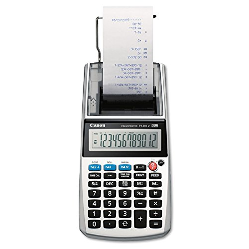 Canon P1DHV 12-DIGIT Portable Printer Display Calculator