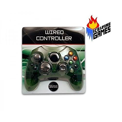 Image 0 of Wired Controller For The Original Microsoft Xbox Green