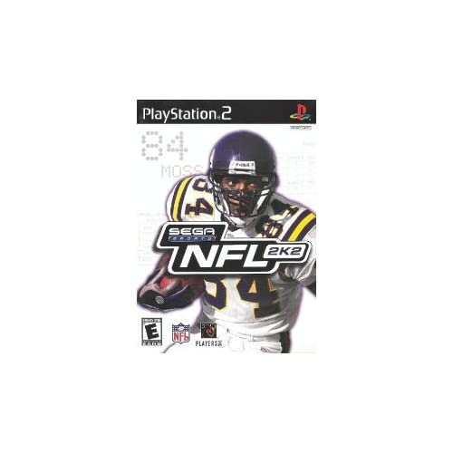 Image 0 of NFL 2K2 For PlayStation 2 PS2 Football