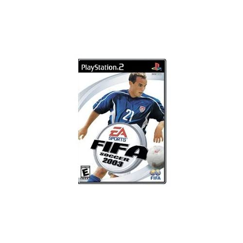 FIFA Soccer 2003 For PlayStation 2 PS2 With Manual and Case