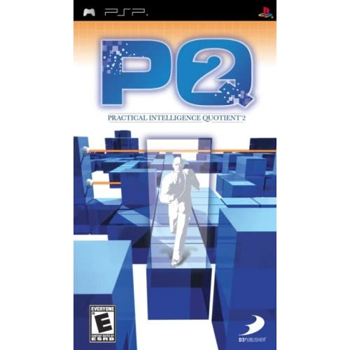 Pq Practical Intelligence Quotient 2 Sony For PSP UMD Puzzle