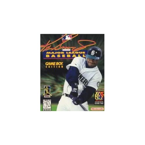 Ken Griffey Jr Presents Major League Baseball On Gameboy