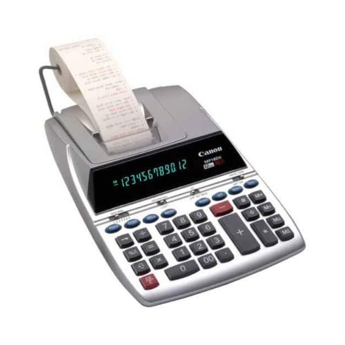 Canon MP18D II Printing Calculator Desktop MP19DII