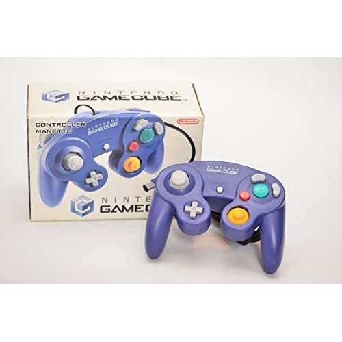 Image 0 of Nintendo OEM GameCube Controller Purple