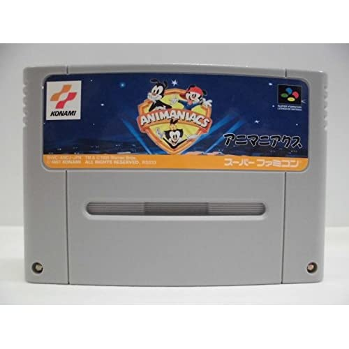 Animaniacs For Super Nintendo SNES For Super Nintendo SNES