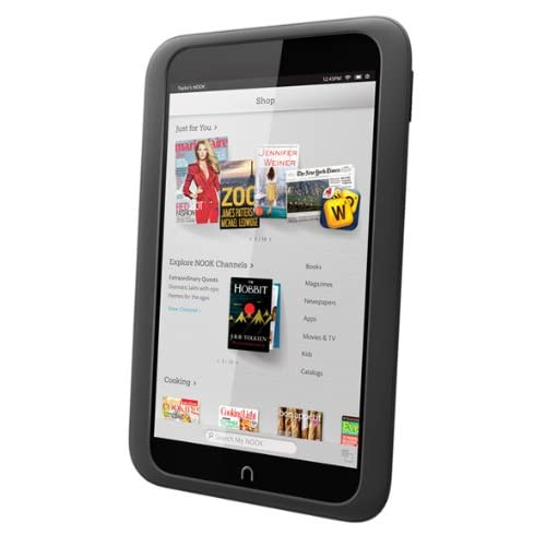 Barnes And Noble Nook HD Tablet 16GB Slate BNTV400-16GB-SLATE Gray