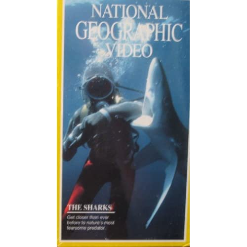 The Sharks: National Geographic Video On VHS