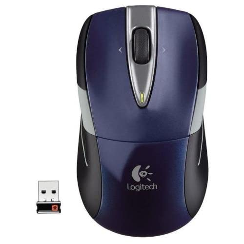 Image 0 of Logitech M525 Wireless Full-Size Mouse Unifying Receiver PC MAC Blue