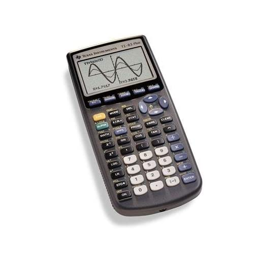 Image 0 of TI-83 Plus Graphics Calculator By Texas Instruments
