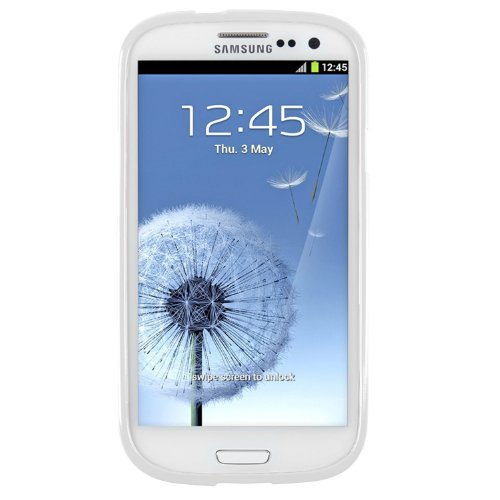 Image 2 of Samsung Galaxy SIII S3 White Lite Premium Slim Fit Flexible Tpu Case